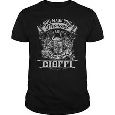 Cool CIOFFI CIOFFIYEAR CIOFFIBIRTHDAY CIOFFIHOODIE CIOFFINAME CIOFFIHOODIES  TSHIRT FOR YOU Shirts & Tees
