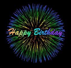 find best Happy Birthday Gif, Funny Happy Birthday Gif, Dance Happy Birthday Gif for you. Use these Happy Birthday Gif to wish your Friends Happy Birthday Fireworks, Happy Birthday Gif Images, Birthday Wishes Gif, Happy Birthday Rainbow, Happy Birthday Video, Birthday Songs, Happy Birthday Messages, Happy Birthday Quotes, Happy Birthday Greetings