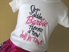 Step Aside Barbie There's a New Doll in Town by CuteZtees on Etsy, $18.00