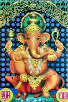 Ganesh- remover (and provider) of obstacles.