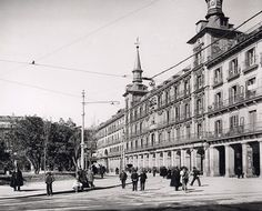 Plaza Mayor año 1906