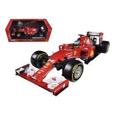 2014 Ferrari F1 F14 T Formula 1 F2014 Fernando Alonso 1/18 Diecast Car Model by Hotwheels
