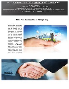Very important thing is business plan for start-up business all people wory about how to make a business plan lets know about business plan in india with business deals