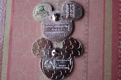 2013 Hidden Mickey Pins; The First of Their Kind ~ Disney Pins ...