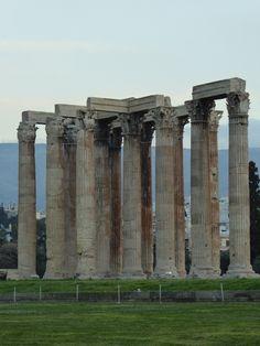 Fotografía: Rebeca Pizarro - Templo de Zeus - Atenas