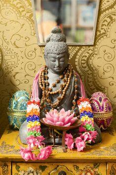 Budda och lotus