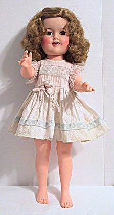 Ideal - Shirley Temple Doll 17 in.