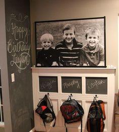 The Backpack Wall | I'm Batmom