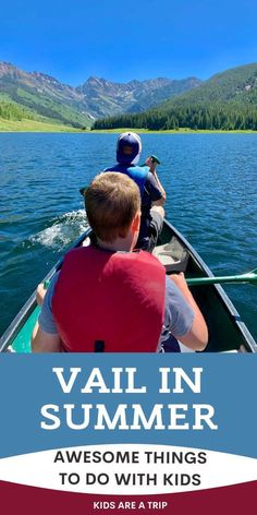 If you are considering a Colorado summer vacation, why not head to Vail? This charming mountain town has European architecture, delicious restaurants, and outdoor adventures galore. Kids of all ages will love summer in Vail! - Kids Are A Trip #Vailsummer #vailsummerwithkids #vailwithteens #coloradosummer #summervacationwithkids #thingstodoinVail Vail Colorado Hotels, White Sausage, Vail Mountain, Vail Village, Stuff To Do, Things To Do, Alpine Style, Atv Riding