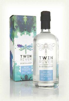A charitable gin from Twin Rivers in Banchory, Scotland. Gin Bottles, Vodka Bottle, Twin River, Gin Joint, Scottish Gin, London Gin, Gin Brands, Gin Tasting, Bebe