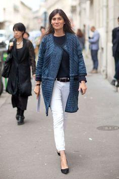 9 ways to wear white jeans all year round: