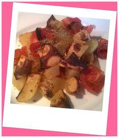 No gluten! Yes vegan!: Arrosto di patate e pomodori
