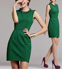 Buenas tardes #FridayNite fans! Esta semana iniciamos en la oficina con un vestido formal y divertido al mismo tiempo por el color verde que es muy primaveral!  http://fridaynite.com.mx/ar78.html #designyourself #newitems #fashiongirl #fashionkids #fashionmen