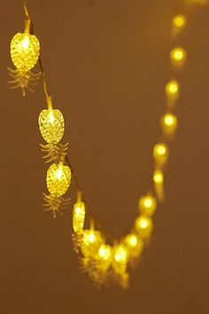 Pineapple String Lights - Urban Outfitters