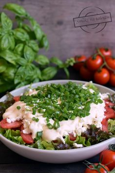 Polish Recipes, Other Recipes, Feta, Risotto, Grilling, Food And Drink, Cooking Recipes, Vegetarian, Salad
