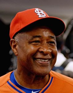 Former professional baseball player Ozzie Smith attends the Taco Bell All-Star Legends & Celebrity Softball Game at Citi Field in New York City  7-14-13