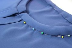 Attaching a collar tutorial | Salme Blog