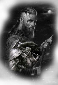 Viking Symbols, Viking Art, Tattoo Sketches, Tattoo Drawings, Tatoo Books, Viking Drawings, Viking Warrior Tattoos, Side Hip Tattoos, Spartan Tattoo
