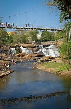 Falls Park by Mike McBride // yeahTHATgreenville