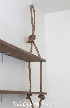 Easy Wall Storage :: Meredith Greenberg's clipboard on Hometalk :: Hometalk Rustic Wood Walls, Diy Dining Table, Shelves, Wall Shelves, Chair Woodworking Plans, Easy Wall, Diy Wall, Diy Rustic Wall, Shelving