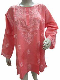Red Bohemian Tunic Top, Summer Embroidered Tunic Kurti, Boho Yoga Tunic Xl Mogul Interior,http://www.amazon.com/dp/B00E0G15YA/ref=cm_sw_r_pi_dp_hI6psb0KADXS37GV