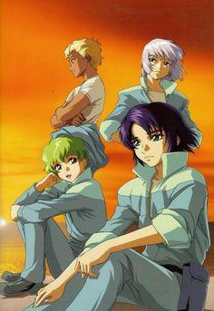 Sunrise (Studio), Mobile Suit Gundam SEED, Hisashi Hirai Illustration Works, Dearka Elthman, Yzak Joule