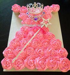 Princess Cupcake Dress Tutorial ! Can use for all Disney & Princess Parties…