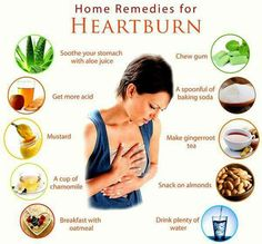 Home remedies for heart burn