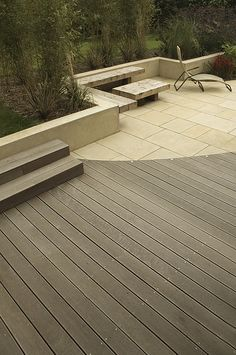 decking and paving intersection lines