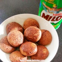 Milo Cookies!  Malted Chocolate Soft Baked Cookies