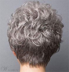 Cheap Straight Capless Synthetic Hair Short Women Wigs 10 Inches - wigsiu Source You are in the righ Short Wavy Haircuts, Short Hairstyles For Women, Wig Hairstyles, Short Grey Hair, Short Hair Cuts, Short Ombre, Gray Hair, Red Ombre Hair, Short Wigs