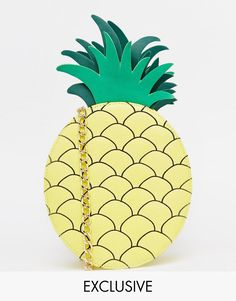 Image 1 ofSkinnydip Exclusive Pineapple Cross Body Bag