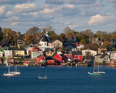 Lunenberg, Nova Scotia, a World Heritage Site, is one of the most picturesque places Burr and I visited in the Maritimes....
