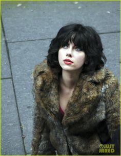 scarlett johansson under the skin movie photos | Scarlett Johansson Fliming 'Under the Skin' in Glasgow