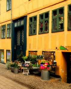 blomster = flowers and this one of the many lovely flower shop in wonderful Copenhagen...