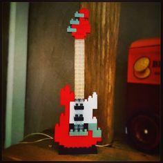 #guitare #guitar #lego #minilego #stratocaster #fender #nanoblock