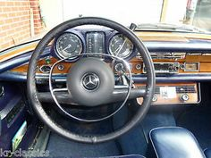 FINE LEATHER STEERING WHEEL COVERS ~ MERCEDES PONTON FINTAIL W110 W120 W123 W124
