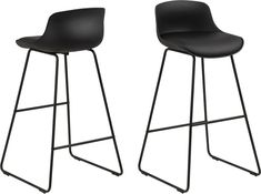 Tina Barstol - Svart - 690 kr - Trendrum.se Google Shopping, Bar Stools, Furniture, Tina, Material, Home Decor, Industrial, Products, Artificial Leather