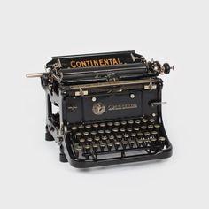 Typewriter Continental, c. 1910
