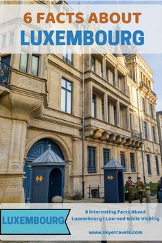 I learned some really interesting and unexpected facts about Luxembourg when Laura and I visited to see the Christmas markets this year. European Travel Tips, European Vacation, Europe Travel Guide, Travel Guides, Travelling Europe, Europe Destinations, Places In Europe, Places To Travel, Budget