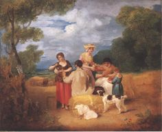 """Noon"" by Francis Wheatley 1799"
