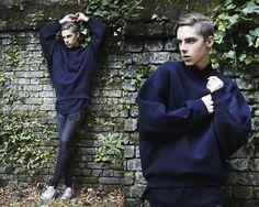 Acne Studios Sweater, H&M Jeans, Acne Studios Shoes