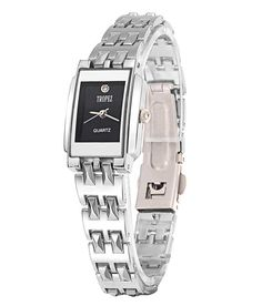 Loved it: Tropez Black Dial Silver Chain Watch for Women, http://www.snapdeal.com/product/tropez-black-dial-silver-chain/251440753
