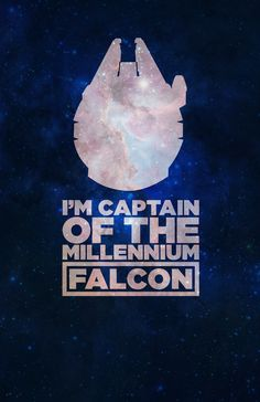 Star Wars' Millennium Falcon Star Wars Poster by Michael Tangonan, via Behance