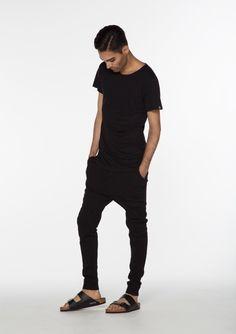 Wool pants - Kim pants - Black Rat - at Just Fashion Ethical Fashion, Mens Fashion, Black Rat, Wool Pants, Sustainable Fashion, Pant Jumpsuit, Tights, Black Jeans, Menswear