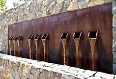 Amazing Outdoor Wall Fountains