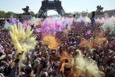 Benoit Tessier photographie Color Run à Paris