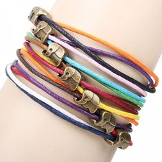 Lovley Elephant Colorful Rope Bracelet , Fashion Bracelets - Accessories &Jewelry For Big Sale! Lovley Elephant Colorful Rope BraceletJust $9.90 . Lovley Elephant Colorful Rope Bracelet is a beautiful accessories which is very popular in the world. It will be a perfect gift for her. in Atwish.com