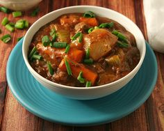 Low Carb Slow Cooker Beef Stew - Yours and Mine ARE Ours