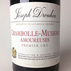 2014 Drouhin Chambolle 1er Cru Amoureuses  Chambolle Amoureuses is a special place. It sits adjacent to Musigny and is one of the most haunting and greatest Burgundies in existence. #wine #burgundy #pinotnoir